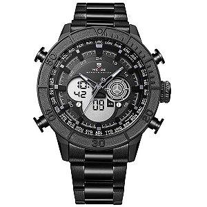Relógio Masculino Weide Anadigi WH-6308 PT