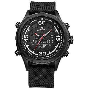 Relógio Masculino Weide Anadigi WH-6306 PT