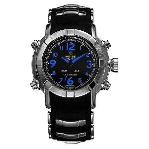 Relógio Masculino Weide Anadigi WH-1106 Azul