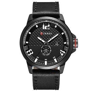 Relógio Masculino Curren Analógico 8253 Branco