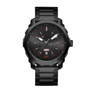 Relógio Masculino Curren Analógico 8266 Preto e Cinza