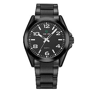 2b1e8c9cb41 Relógio Masculino Weide Analógico WH801G Prata e Branco - Amigonauta