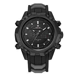Relógio Masculino Weide Anadigi WH-6406 Preto