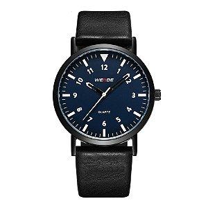 Relógio Masculino Weide Analógico WD003 Preto/Azul