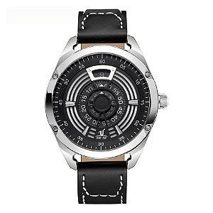 Relógio Masculino Weide Analógico UV-1701 Preto/Prata