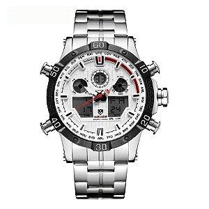 Relógio Masculino Weide Anadigi WH-6901 - BR