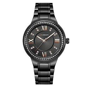8f0a7e98965 Relógio Feminino Curren Analógico C9004L - Preto
