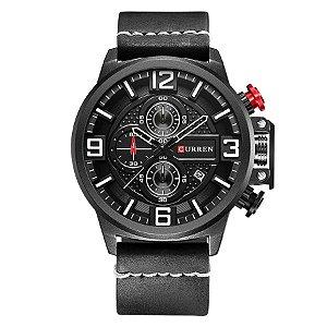 Relógio Masculino Curren Analógico 8278 - Preto