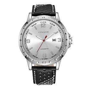 Relógio Masculino Curren Analógico 8120 - Prata