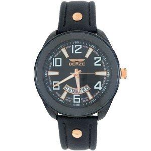 Relógio Masculino Analógico Social Berze BT173 Preto