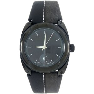 Relógio Masculino Analógico Social Berze BT169M Preto e Cinza