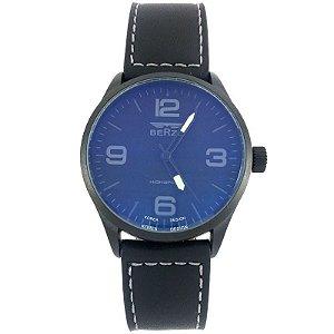 Relógio Masculino Analógico Social Berze BT168 Preto