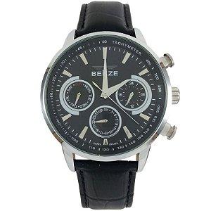 1f0248b7d13 Amigonauta - Relógio Masculino Analógico Social Berze BT238M Azul e ...
