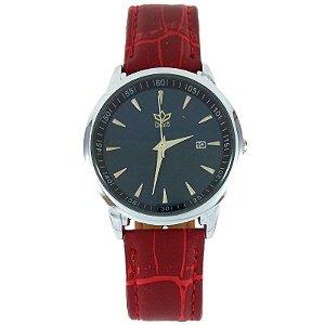 Relógio Feminino Analógico Kasi Vermelho