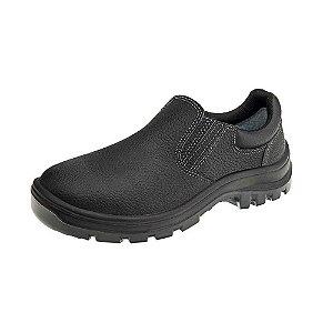 Sapato de elástico com bico de aço vulcaflex