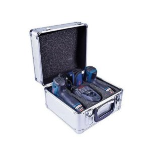 Kit parafusadeira/furadeira 12V c/ maleta de alumínio
