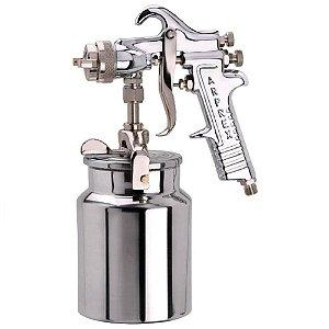 Pistola milenium 5 bico inox 1,6MM