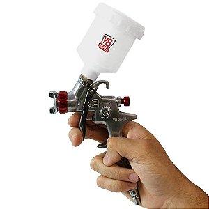 Pistola de pintura PPK4 gravidade