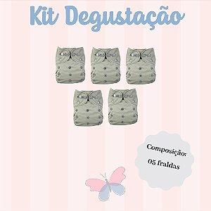 Kit Degustação - Ideal para você que deseja iniciar o uso das Fraldas Ecológicas