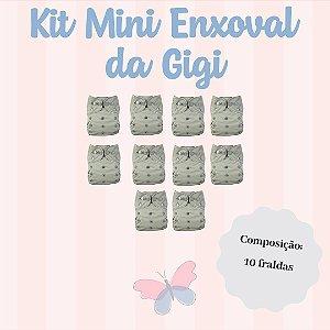 Kit Mini Enxoval da Gigi - Ideal para você que deseja usar as Fraldas Ecológicas fazendo um investimento pequeno