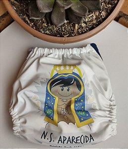 Fralda Nossa Senhora Aparecida - Nacional - Lele Eco - Sublimada - Dryfit