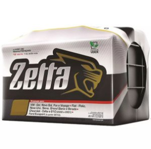 Bateria Automotiva Zetta Z60D 60 Amperes