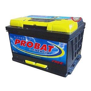 Bateria Automotiva Probat com Manutenção 80 Amperes