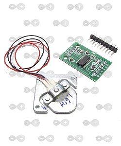 Célula De Carga 50 Kg - Sensor De Peso + Placa Hx711