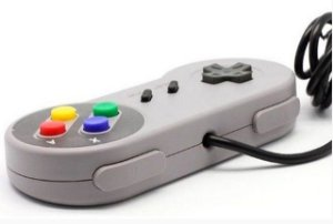 CONTROLE USB SUPER NINTENDO SNES P/ PC OU RASPBERRY