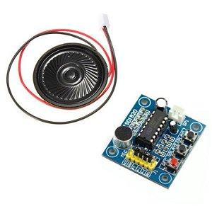 Módulo Gravador de Voz e Player ISD1820
