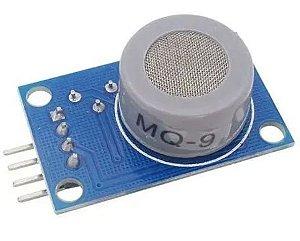 Sensor de Monóxido de Carbono e Gases Inflamáveis - MQ-9