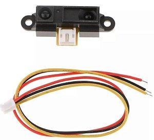 Sensor Infravermelho Sharp Gp2y0a21yk0f 10 - 80cm - Arduino