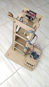 Elevador Robótico + Eletrônica