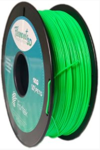 FILAMENTO PET-G 1,75 MM 1KG - VERDE BRIL. (GLOWING GREEN)