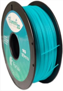 FILAMENTO PET-G 1,75 MM 1KG - AZUL BRIL. (GLOWING BLUE)