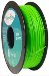 FILAMENTO PET-G 1,75 MM 1KG - FLUOR. VERDE (FLUO GREEN)