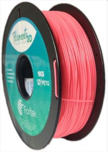 FILAMENTO PET-G 1,75 MM 1KG - FLUOR. LARANJA (FLUO ORANGE)