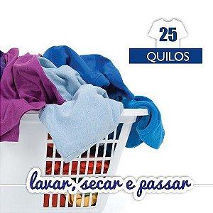 Lavar, Secar e Passar - 25kg