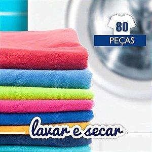 Lavar e Secar - 80 Peças