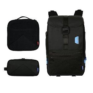 Mochila Modular para Viagem e Trilha com 3 peças Bagsmart