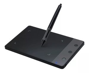 Mesa Digitalizadora Huion H420 Pen Tablet Com 3 Express Keys
