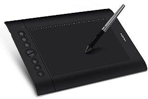 Mesa Digitalizadora 10 Polegadas Huion H610 PRO V2 Tablet Gráfico