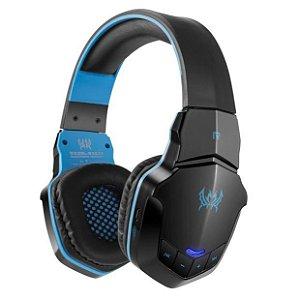 Fone De Ouvido Headset Com Microfone Gamer Sem Fio Wireless