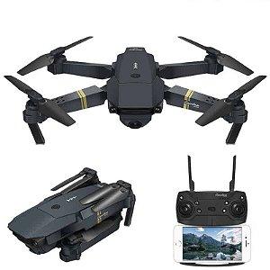 Drone Quadcopter Zangão Eachine e58 1080P + 2 Baterias + Case