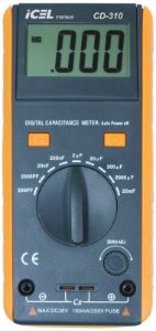 CAPACÍMETRO DIGITAL ICEL MANAUS CD-310 2.000uf 20.000uf DATA HOLD