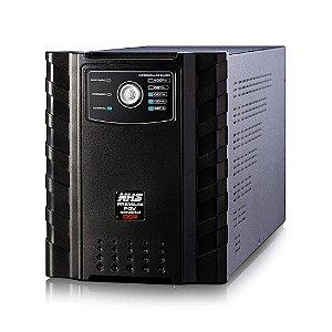 NOBREAK PREMIUM SENOIDAL 3200VA 3 X 17AH USB E ENGATE NHS BIVOLT SAÍDAS 220V - 91.C0.032101