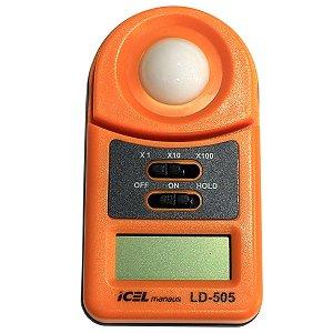 Luxímetros Digital Icel Ld-505 Resolução: 1/10/100 Lux Hold
