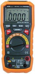 Multimetro Icel Md-6456 Digital True Rms Resistência 60mohms