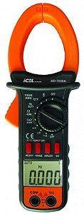 Alicate Amperímetro Digital Icel Ad-7850a Capacitância 10mf