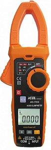 Amperímetro Ad-7930 Icel Filtro Passa Baixa Cat.iv 600v